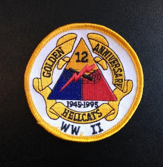 Vintage Hellcats 12th Armored Division WWII Anniversary