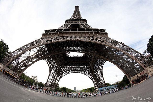 Fisheye Eiffel Tower Fisheye Photography Eiffel Tower Fisheye Photos
