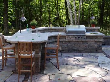 Lovely Private Port Washington, WI Residence Traditional Patio