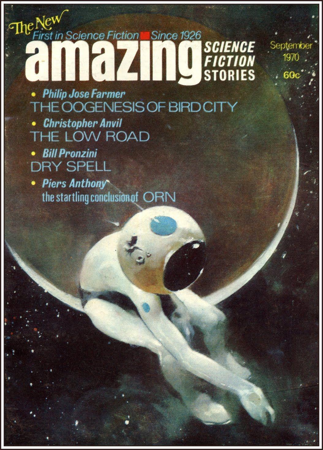 Amazing, Sept. 1970, cover by Jeff Jones