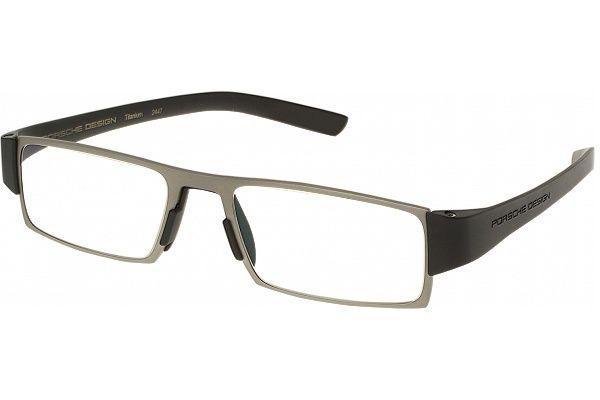 bd5825f54ed Cool reading glasses for men   women. Porsche 8802 - Transition lens Single  Vision Full Frame   Titanium Black