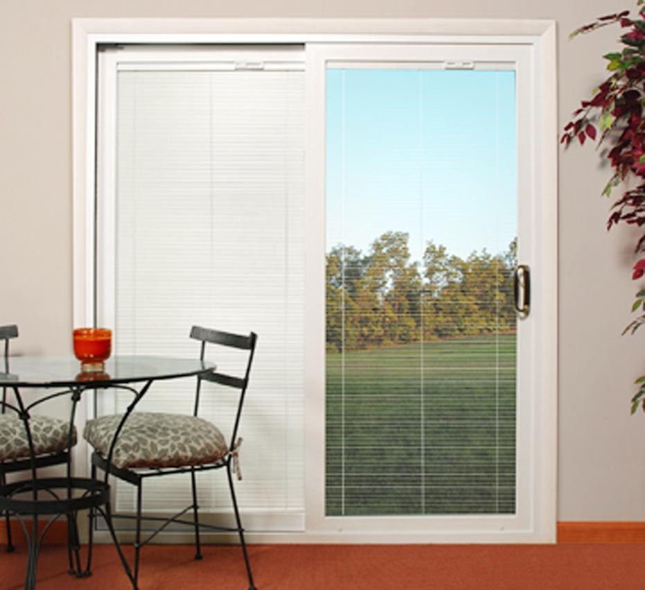 Sliding Patio Doors With Built In Blinds In 2020 Sliding Glass
