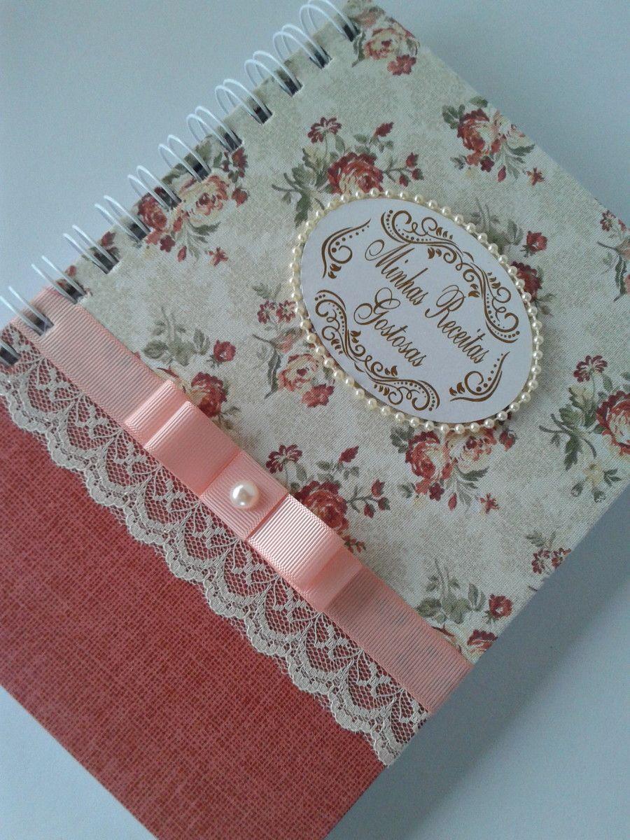 Caderno De Receita Caderno De Receitas Como Encapar Caderno