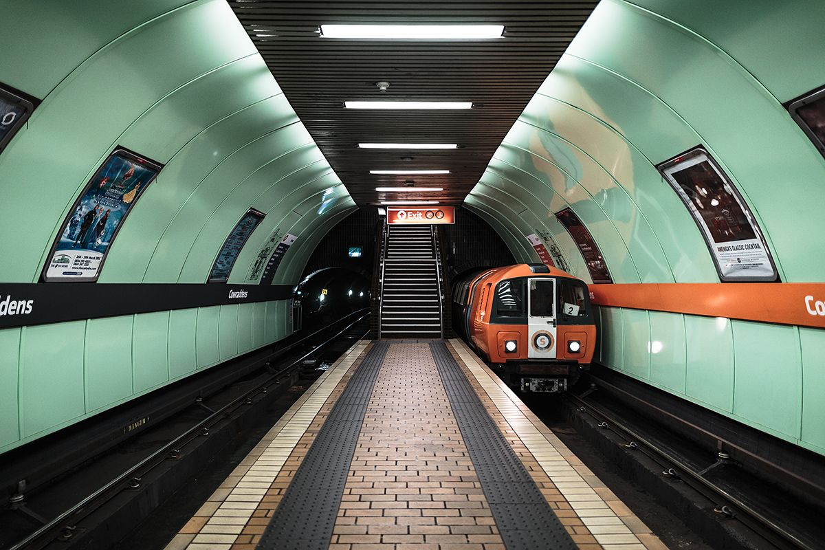 Architecture Photo Series Featuring The Circular Subway Of Glasgow The Subway S Of Europe Glasgow Subway Glasgow Glasgow Scotland
