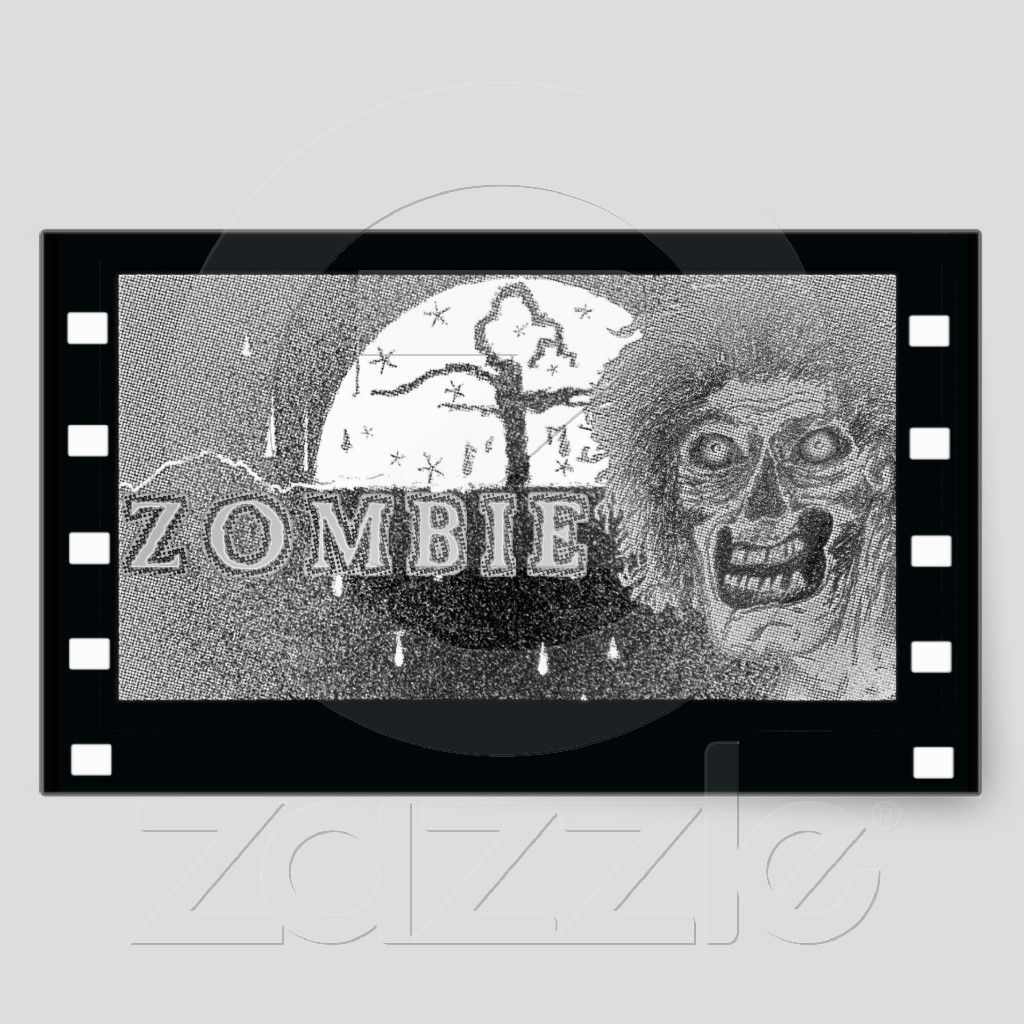 Zombie black u white film from zazzle zombie tshirts and