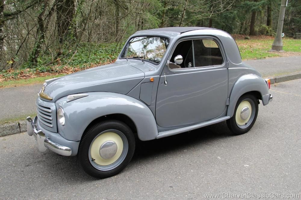1951 Fiat 500 Topolino Convertible Saloon Excellent See Video