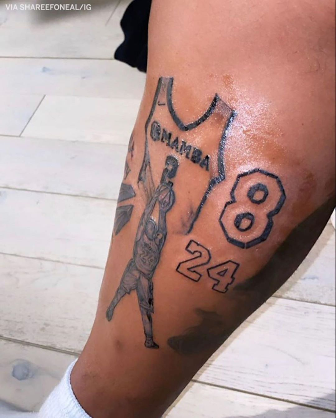 Pin by aliyah baskin on Tattoos in 2020 Kobe bryant