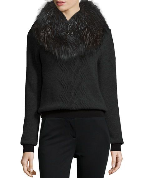 MONCLER Maglione Knit Tricot Sweater, Black. #moncler #cloth #