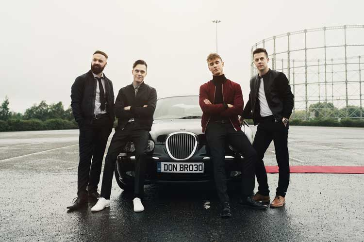 Behind-The-Scenes With Don Broco