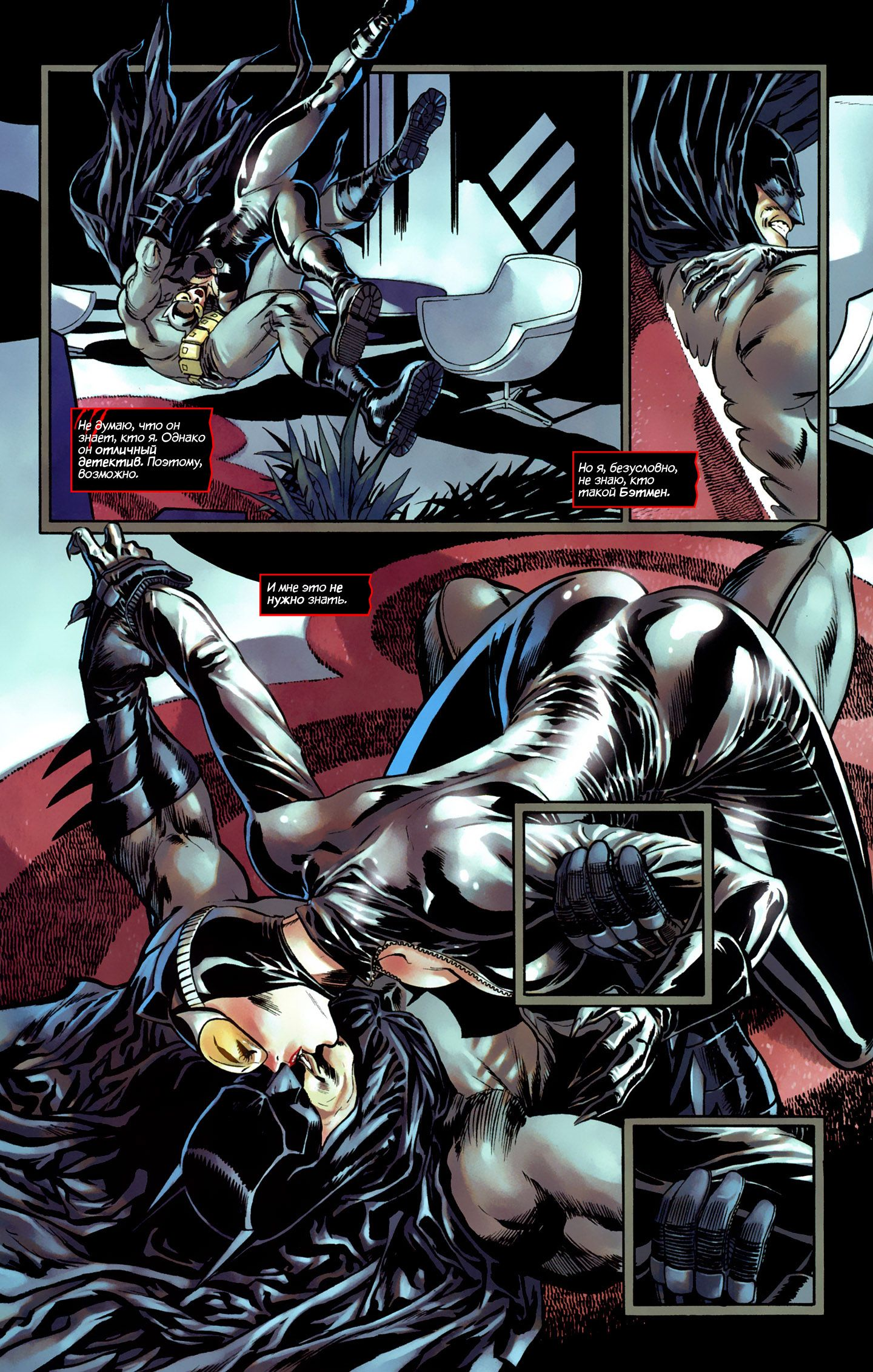 Batman having sex with cat women