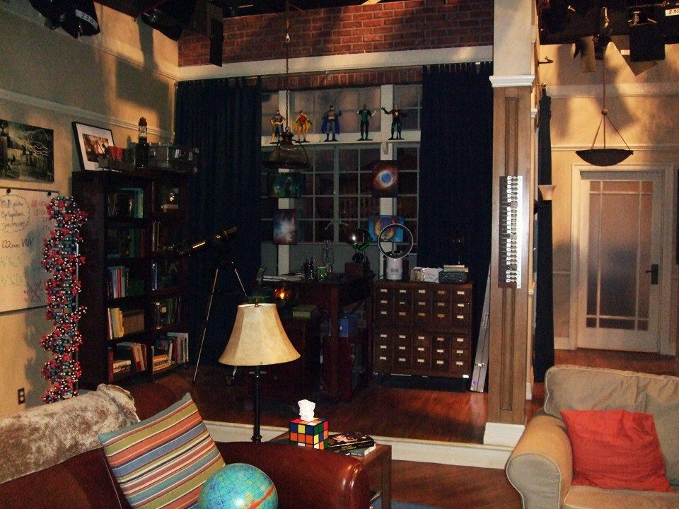 Back Corner Big Bang Theory Decorating Based On Tv Movie Sets