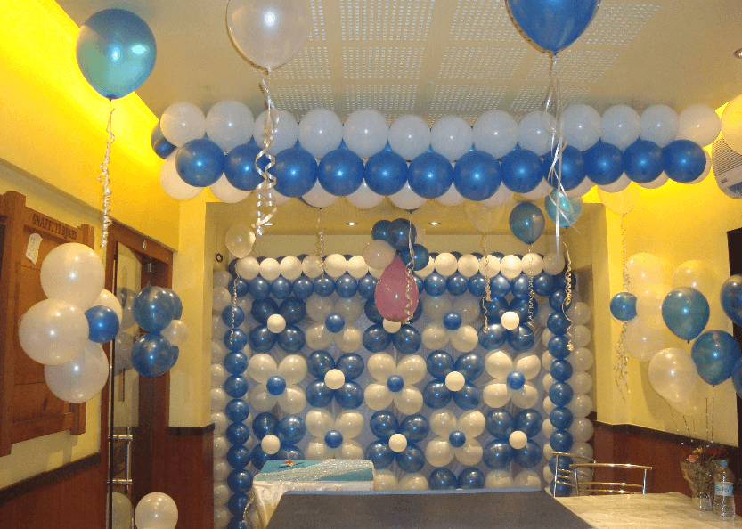 Wall decoration ideas for birthday party , Save with share
