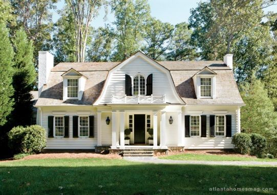 Raise The Roof Part Two Dutch Colonial Exterior Dutch Colonial Homes Gambrel Style