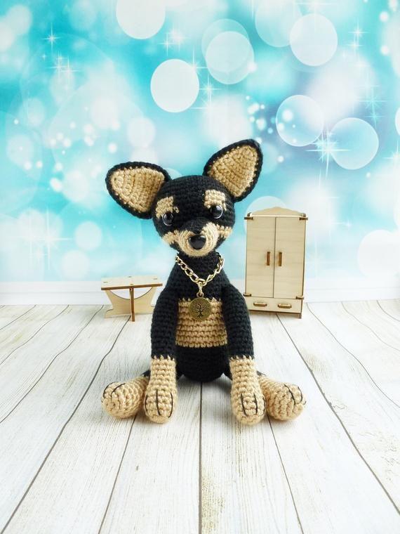 How to Crochet a Dog Amigurumi Toy - Naztazia ® | 760x570