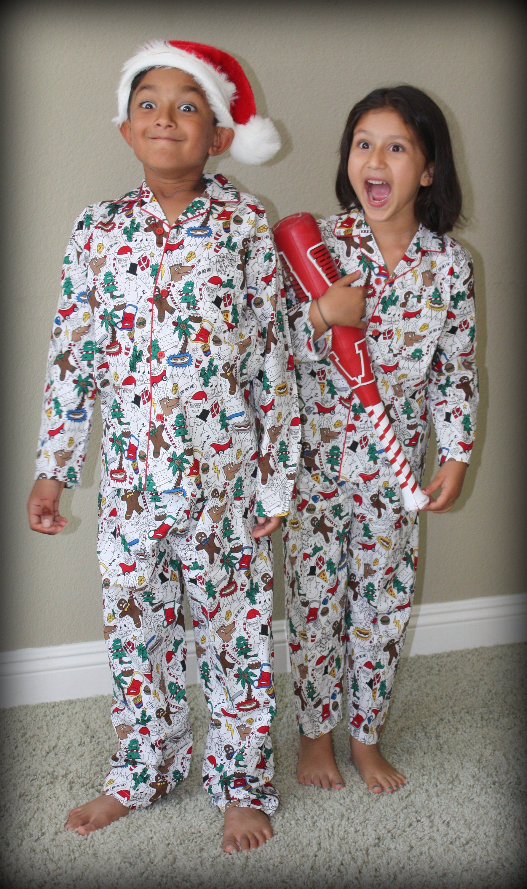 Christmas Print Pajama / Holiday Pajama Holiday pajamas