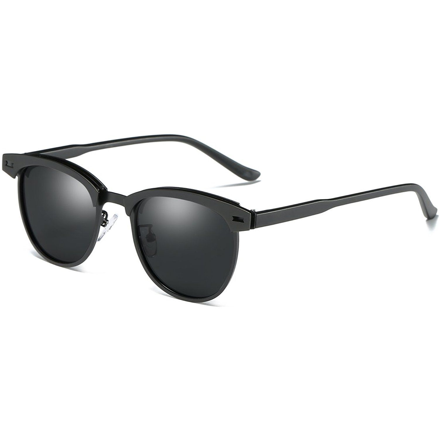6aa15f9642 Joopin Semi Rimless Polarized Sunglasses Women Men Retro Brand Sun Glasses  -- You can find more details by visiting the image link.