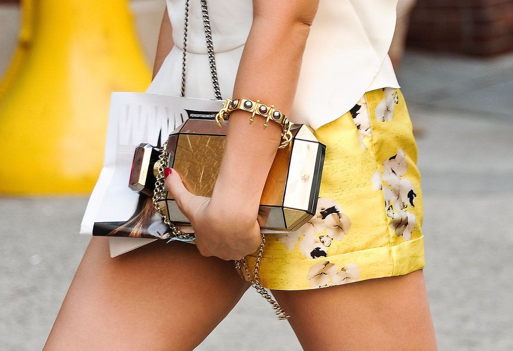 Best Street Style Shoes and Bags at Fashion Week Spring 2015 | POPSUGAR Style & Trends