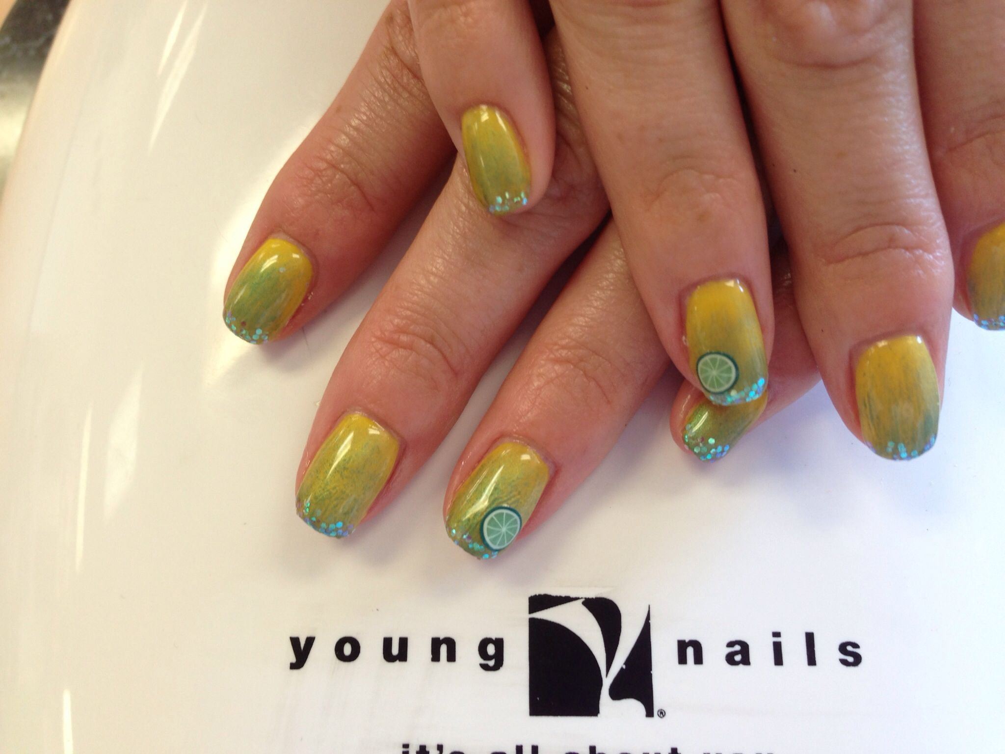 Margarita nails | Nails by Total Style | Pinterest | Margaritas