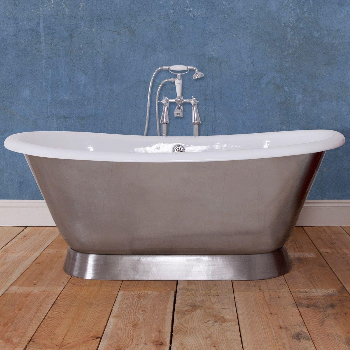 The Bath Co. Stirling polished cast iron bath | Stirling, Bath and Iron