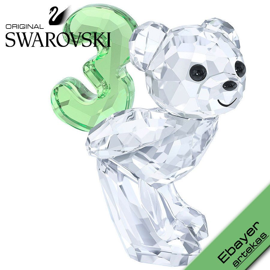 5ab20c43b5 SWAROVSKI Kris Bear Numbers - 0-1-2-3-4-5-6-7-8-9 Complete 10 Ten Piece SET  | eBay