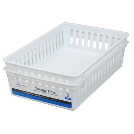Rectangular Mini Bin Storage Trays