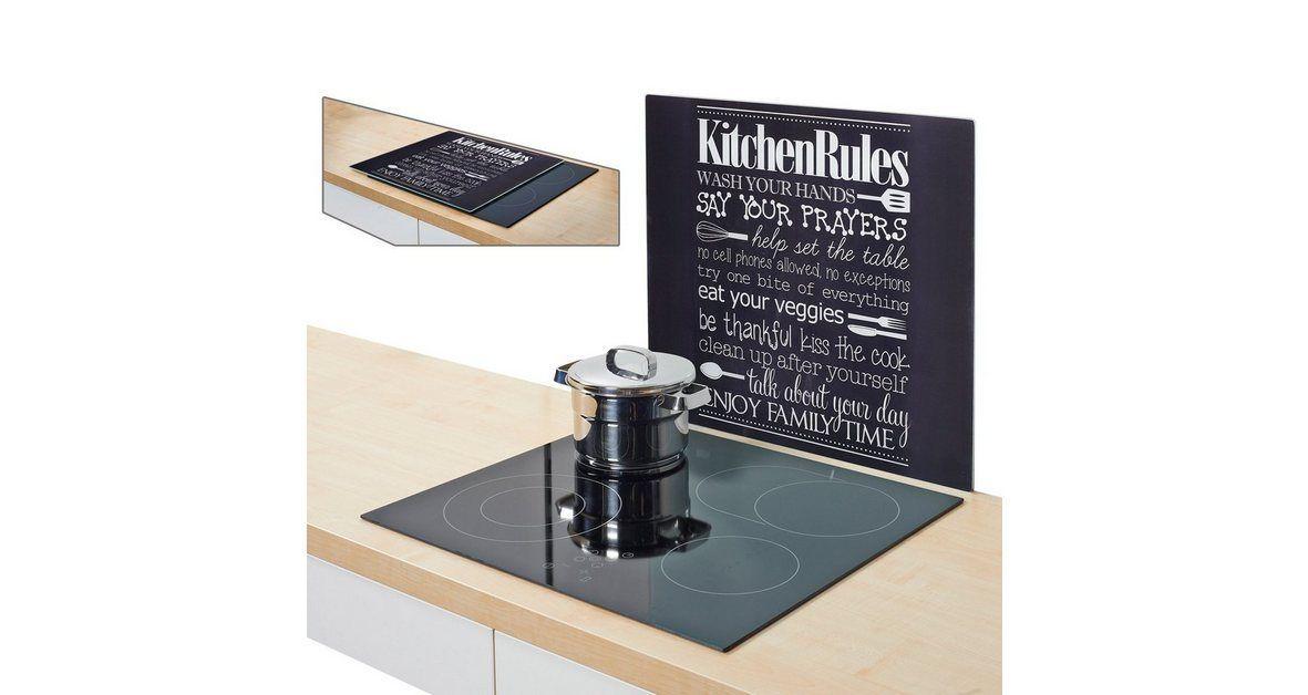 Herdblende/Spritzschutz »Kitchen Rules« #kitchenrules Herdblende/Spritzschutz »Kitchen Rules« #kitchenrules