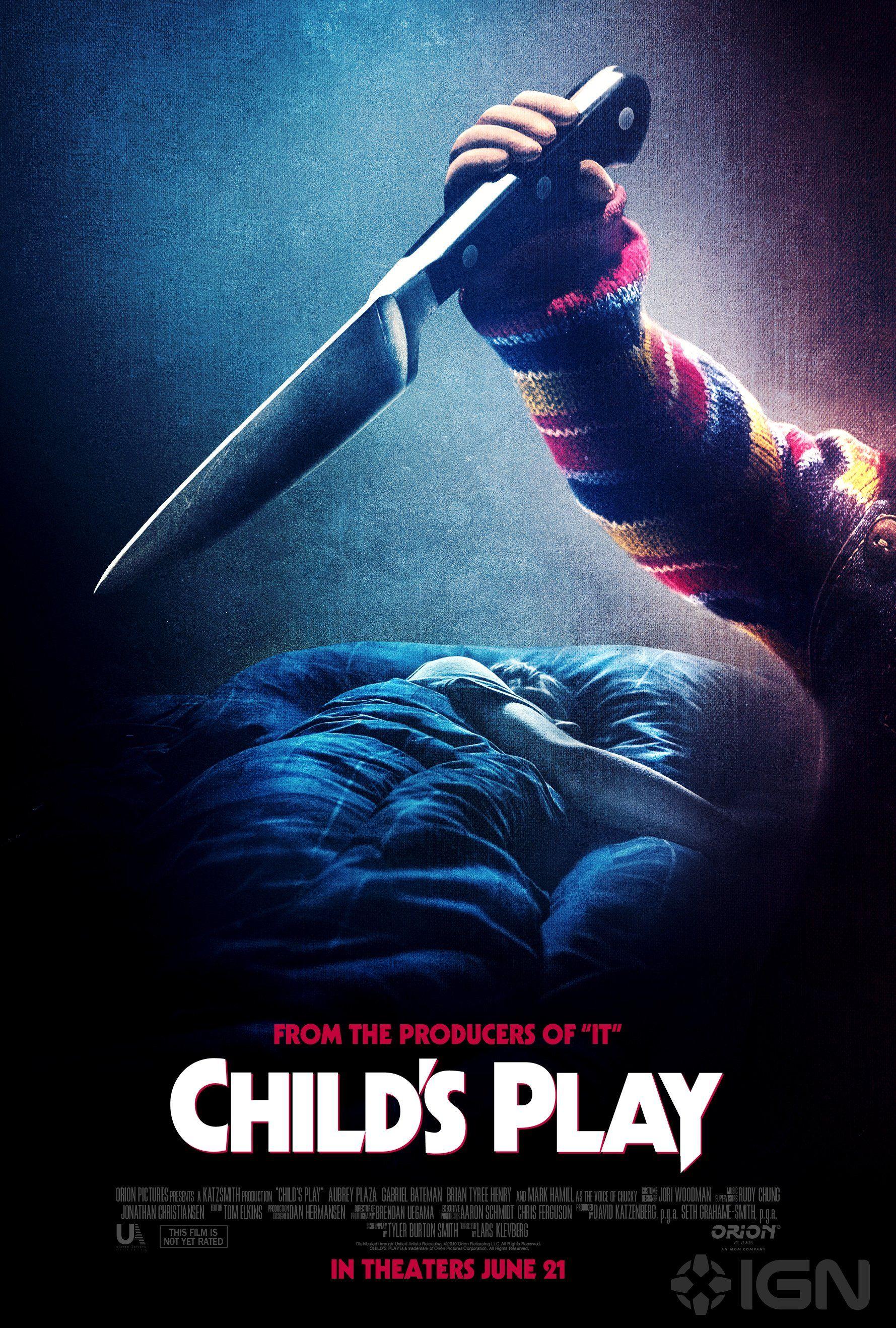 New Child S Play Poster Horrorfilms Film Kleding Ontwerpen