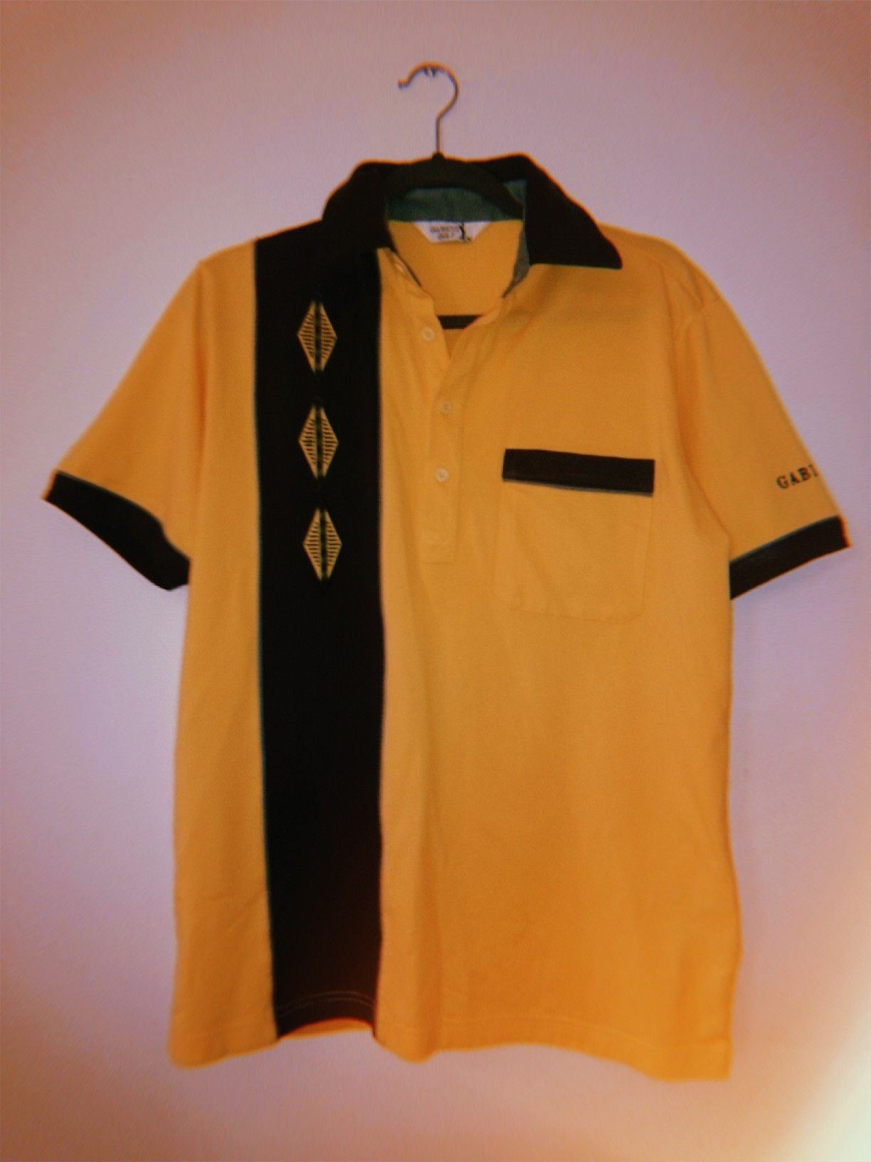 Vintage Italian Golf Shirt Brand Gabicci Womens Golf Fashion Golf Fashion Blue Polo Shirts