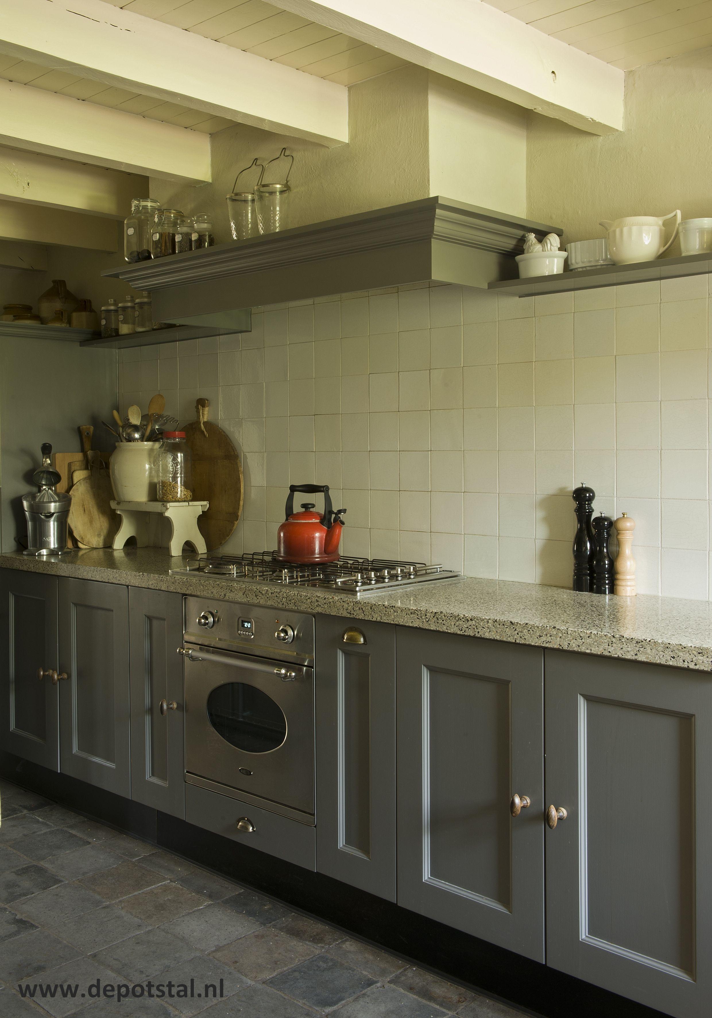 Keuken landelijke stijl accessoires en verf van pure and for Landelijke accessoires