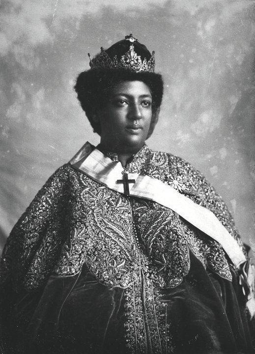 Crown Princess (later Empress) Menen Asfaw of Ethiopia.