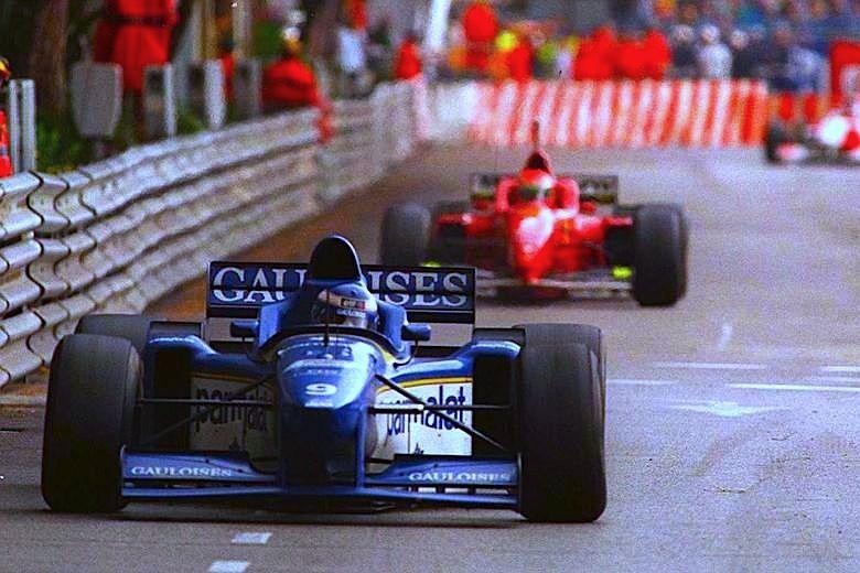 Olivier Panis, Ligier JS43 @ 1996 Monaco Grand Prix   Olivier panis, Monaco  grand prix, Grands