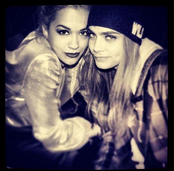 Rita Ora and Cara Delevigne