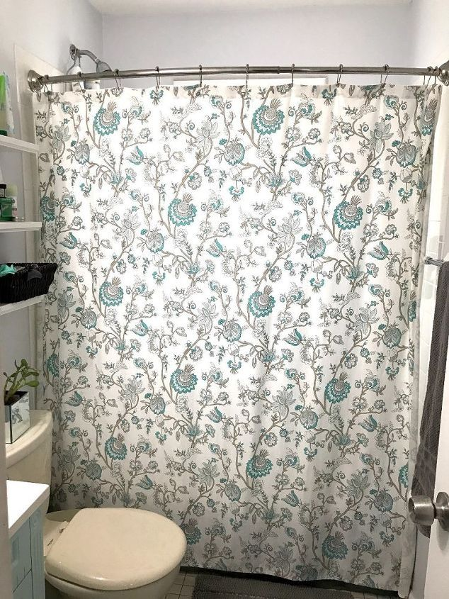 cool take down your shower curtain for this genius idea, Hause deko