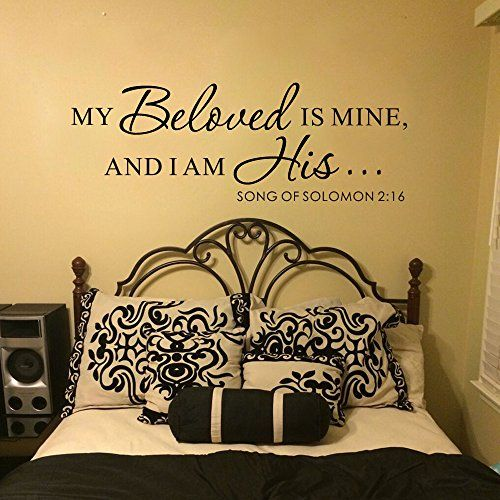 MairGwall Romantic Love Wall Decal Sticker Decor Removable Bedroom ...