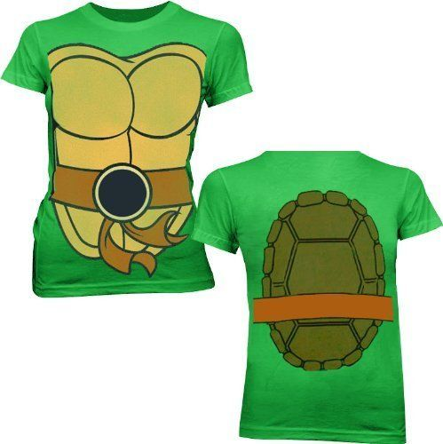 If you're looking for a fun way to represent your love for all things Teenage Mutant Ninja Turtles this Fall or at comic con then this officially-licensed TMNT Teenage Mutant Ninja Turtles Juniors T-shirt might be exactly what you've een searching for this Fall when it's back to school season and you need to dress to impress.