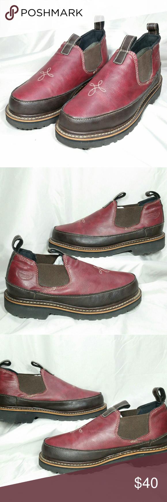 4d7402a1cd6 Georgia Giant Romeo Work Boot Oil Resistant Maroon Women s Georgia Boot  Georgia Giant Romeo work boots