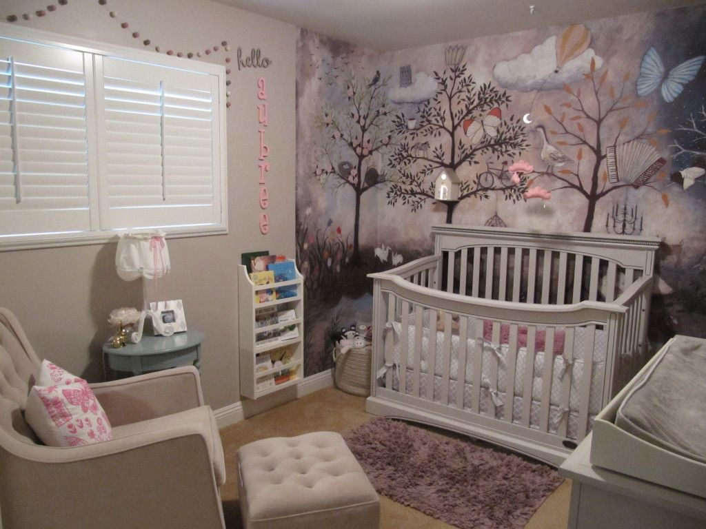 Aubree's Enchanted Forest Nursery Forest baby rooms