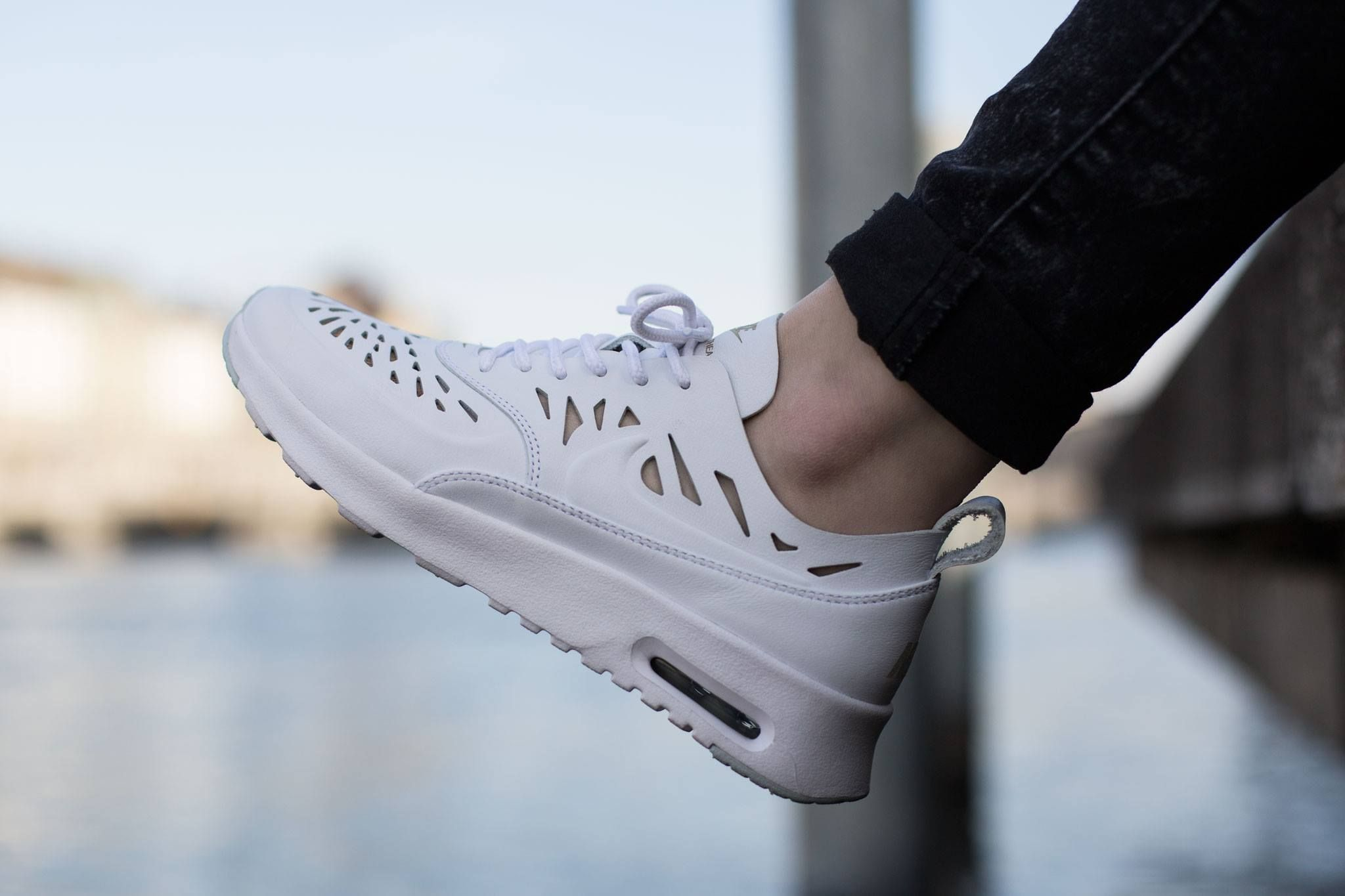 ccb2f7a1b493 Image result for nike air max thea cut out white