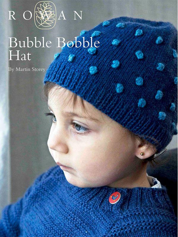Bubble Bobble Hat by Martin Storey in Rowan Wool Cotton 4 Ply (http ...