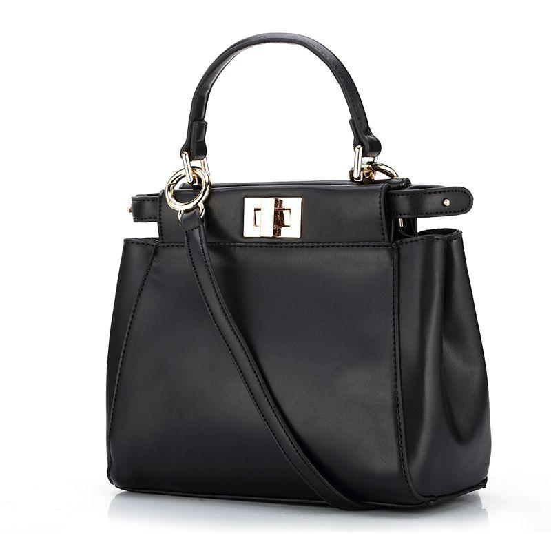 Women Top-handle Bags European Fashion Handbags 2017 Solid / Crocodile Designer Handbags High Quality Female Bags sac femme