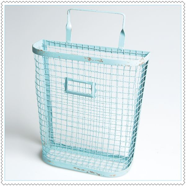 Image of panier lettres rack only for mommy - Etagere murale bleu turquoise ...