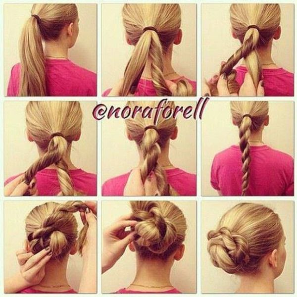 Bun Sari O S Photo Beautylish Hair Styles Long Hair Styles Diy Hairstyles