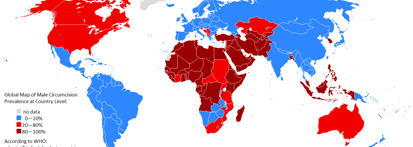 Circumcision The Primal Cut A Human Rights Violation OLM Family - Map violation
