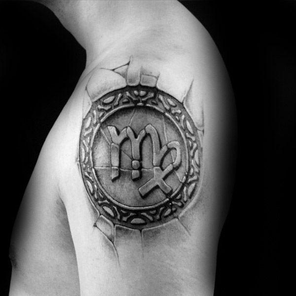 Top 63 Virgo Tattoo Ideas For Men [2021 Inspiration Guide] | Virgo tattoo,  Virgo tattoo designs, Tattoos for guys