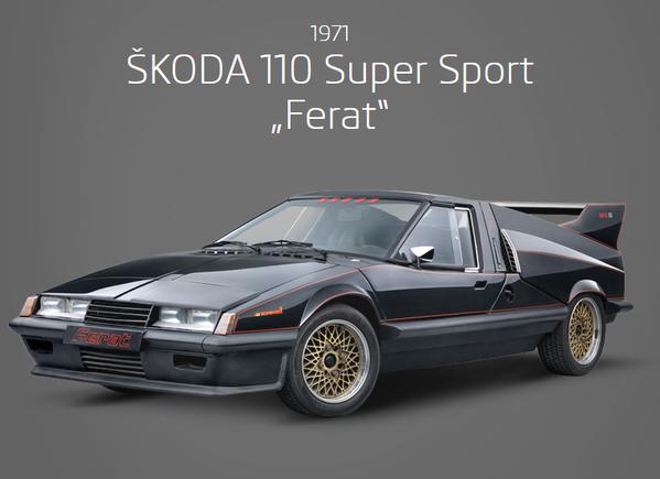 Skoda 110 Super Sport Super Sport Skoda Sports