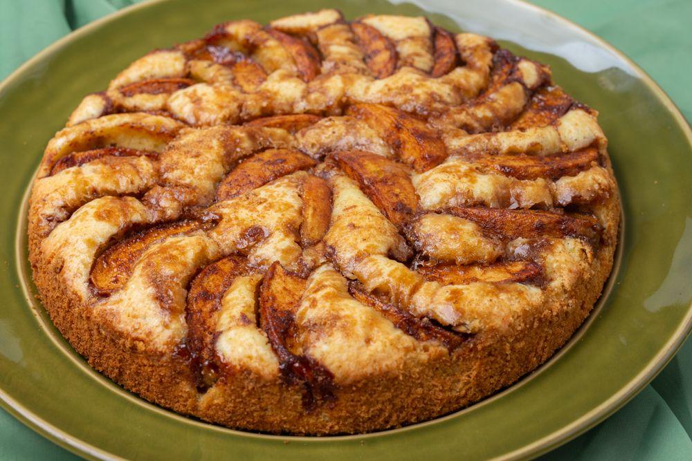 كيكة التفاح السويدية الفرن الدافئ Recipe Cooking Food Breakfast