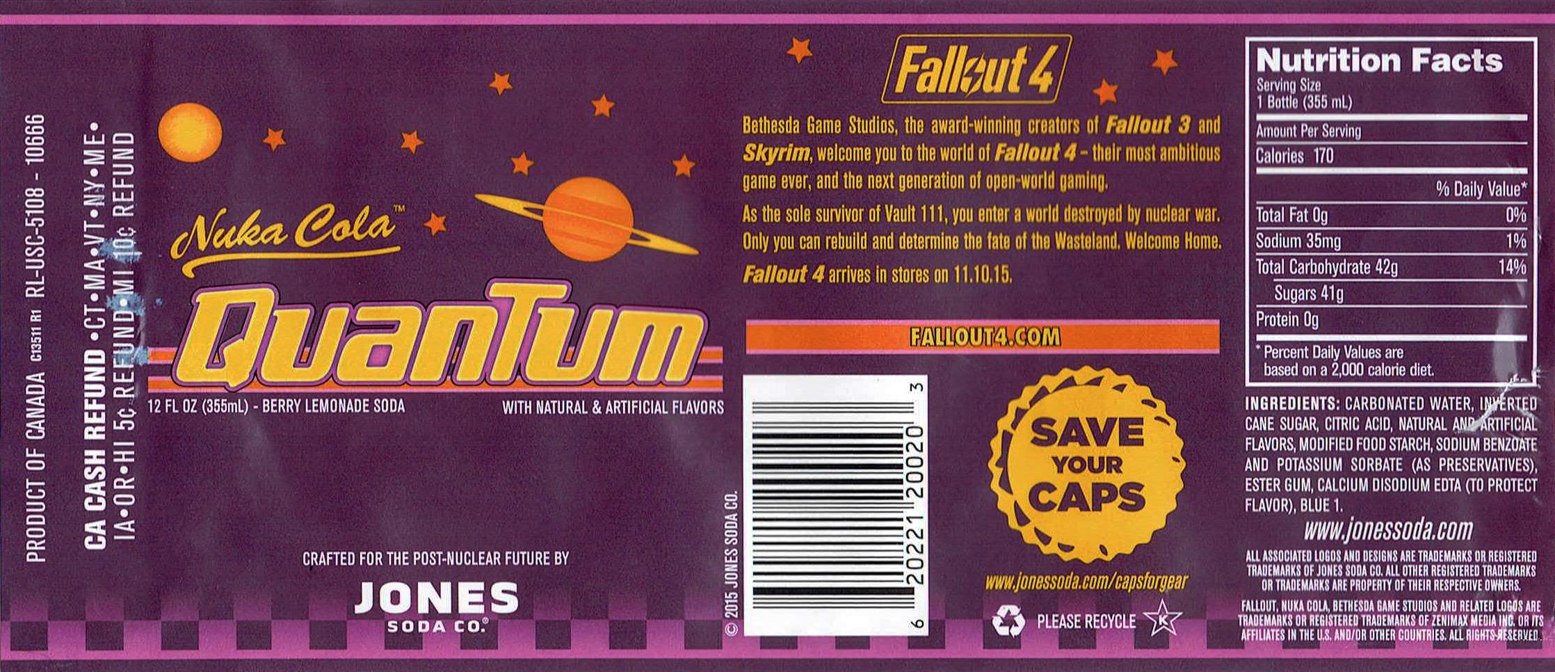 Jones Soda Nuka Cola Quantum Label Imgur 2236x966 Png Nuka Cola Quantum Cola Nuka Cola Label