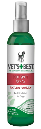 Vets Best Hot Spot Itch Relief Spray For Dogs Dog Skin Care Dog