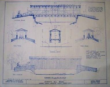 Covered bridge in lancaster county pa blueprint by blueprintplace covered bridge in lancaster county pa blueprint by blueprintplace 1899 malvernweather Choice Image