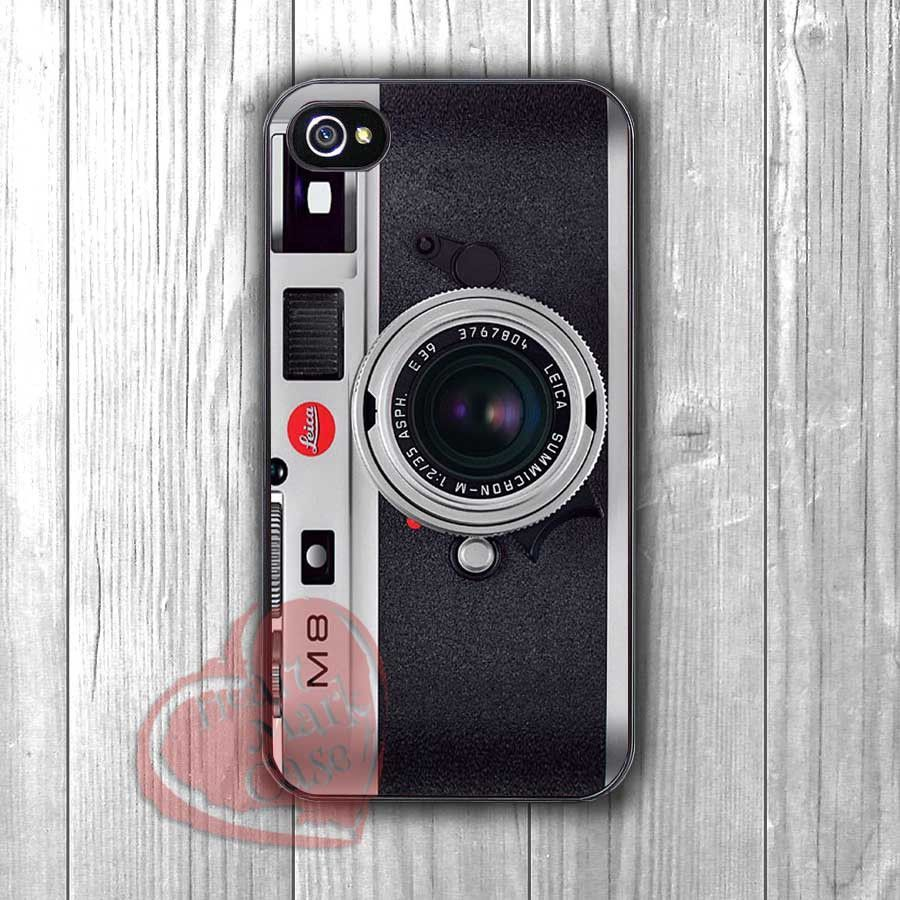 leica retro camera-1yh for iPhone 6S case, iPhone 5s case, iPhone 6 case, iPhone 4S, Samsung S6 Edge